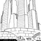 Прачка среди небоскрёбов, Александров Василий
