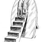 зеркало с лестницей, Гурский Аркадий