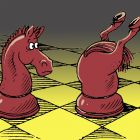 Пара коней, Дубинин Валентин