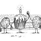 Бой яиц, Дубинин Валентин