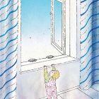 Ребёнок у окна, Сергеев Александр