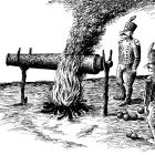 старинная пушка, Гурский Аркадий