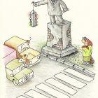 памятник ленину - подставка под светофор, Кононов Дмитрий