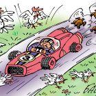 Формула-5, пошли цыплята погулять, Цыганков Борис