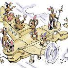 Деревянный самолет , Цыганков Борис