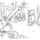 Пионеры в сосновом лесу, Смагин Максим