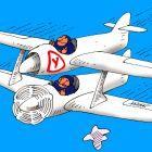 Учебный самолет, Валиахметов Марат