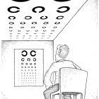 Проверка зрения (ч/б), Шмидт Александр