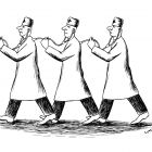 врачи со стетоскопами, Гурский Аркадий