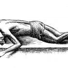 спящий с книгой, Гурский Аркадий