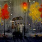осень в городе, Попов Андрей