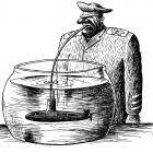Аквариум с подлодкой, Гурский Аркадий