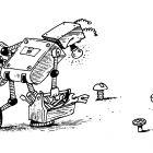 Робот - грибник, Дубинин Валентин