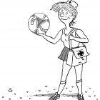 Медсестра и мяч, Александров Василий