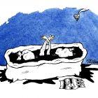 лебеди в ванне, Москин Дмитрий