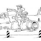 Газовый автомобиль, Смагин Максим