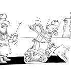 Робот-дворник, Смагин Максим