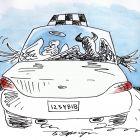Такси, Эренбург Борис