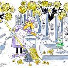 Уборка листьев, Гуцол Олег