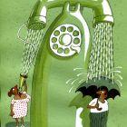 Телефон,вода, Дружинин Валентин