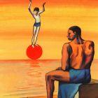 Девочка на шаре, Сыченко Сергей