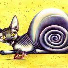 Кошка-спираль, Дружинин Валентин