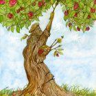 дерево-художник, Кустовский Алексей