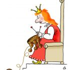 Королева вяжет, Александров Василий