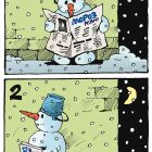 Снеговик и снежки, Иванов Владимир