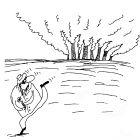 Спасение цветка от дыма, Шилов Вячеслав