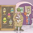 Курицы в музее, Иванов Владимир