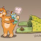 Интеллигентный кот, Иванов Владимир