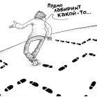 Лабиринт в чистом поле (ч/б), Шмидт Александр