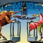 Теледебаты быка и тореадора, Туровская Марина