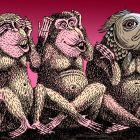 Две обезьяны и рыба, Туровская Марина