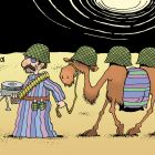 Верблюд на службе, Иванов Владимир