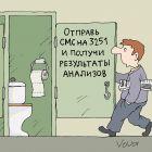 Анализы по СМС, Иванов Владимир