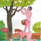 Адам и корзинка, Капуста Николай