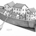Городок на лодке, Далпонте Паоло