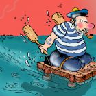 Моряк на тележке, Александров Василий