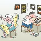 Жена-бабочка, Александров Василий