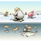 Зимняя рыбалка, Кийко Игорь