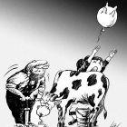 надувная корова, Локтев Олег