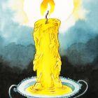 свеча из людей, Локтев Олег