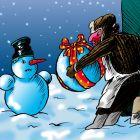 подарок для снеговика, Локтев Олег