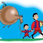 Цыганская лошадь, Смагин Максим