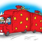 Новогодний грузовик, Смагин Максим