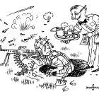 Война войной, а обед... из ресторана, Смаль Олег