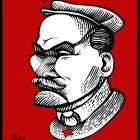 """Перевёртыш """"Ленин и Сталин"""", Дубинин Валентин"""