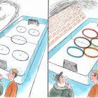 Подготовка хоккейной площадки, Капуста Николай